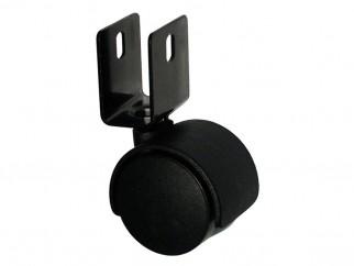Мебелно колелце за 18 мм плоскост - ф40 мм