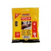 Универсални кърпички за почистване на инструменти и ръце Soudal Swipex