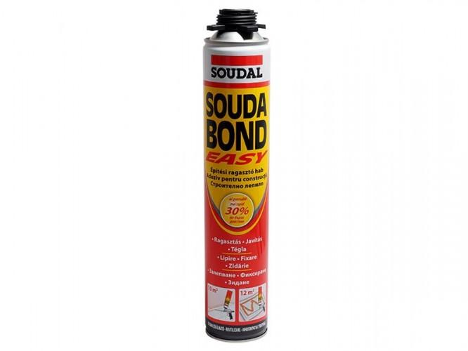 Полиуретанова лепилна пяна със слабо раздуване Soudal Soudabond Easy