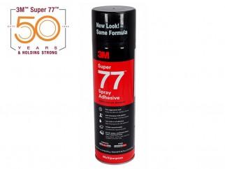 Универсален прозрачен спрей-лепило 3M Super 77