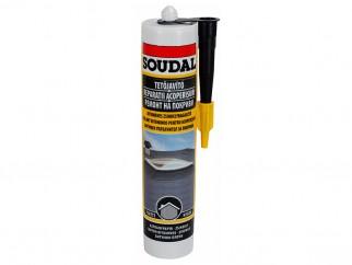Водоустойчив уплътнител за ремонт на покривни битумни плочи Soudal