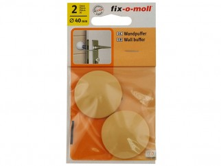Self-adhesive Wall Buffer Fix-o-moll - 40 mm, Beige