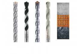 Concrete and masonry drill bits