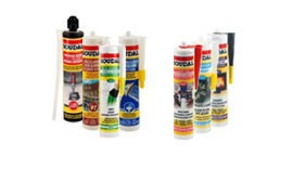 Glues and silicons