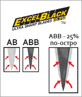 Excel Black Ultra Sharp Snap-off Blade