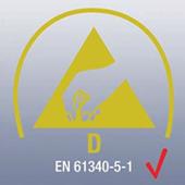 DIN EN 61340-5-1 - Защита на електронни устройства от електростатични явления